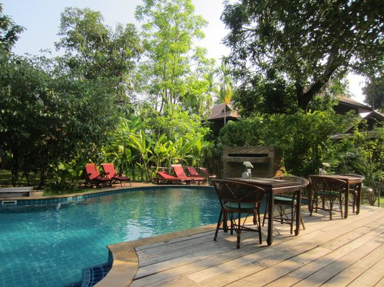 Baan Orapin Bed and Breakfast: Pool area