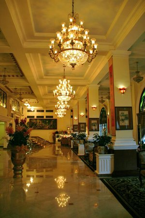 Hotel Majestic Saigon: The lobby