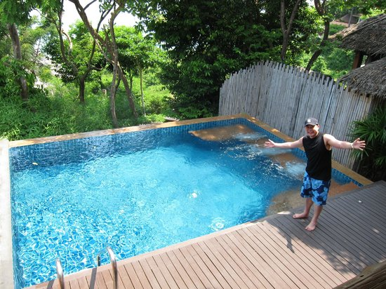Outrigger Phi Phi Island Resort and Spa: Private Pool at Hillside Villa (free upgrade!)