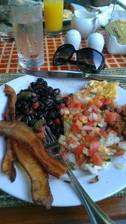 Dreams Cancun Resort &amp; Spa: breakfast
