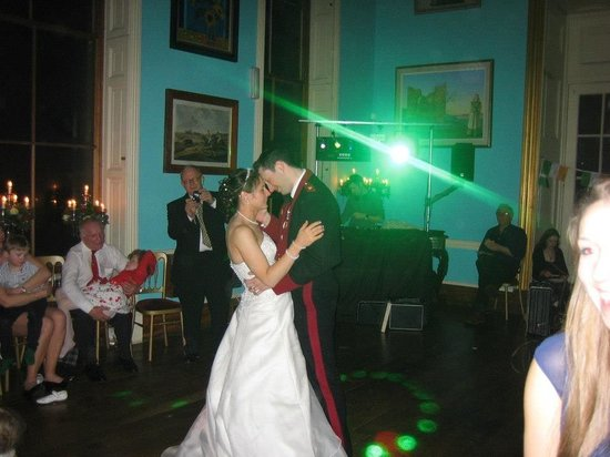 Shropshire, UK: The first dance