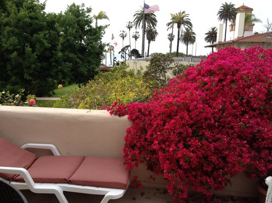 The Bed and Breakfast Inn at La Jolla: Nice rooftop patio at the Inn