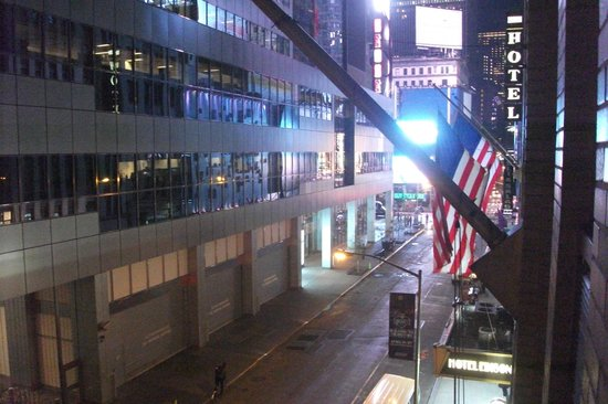 Edison Hotel Times Square: View from window