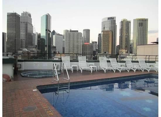 Holiday Inn Old Sydney: View from roof top