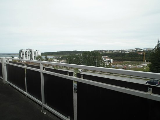 Kópavogur, Island: View from the balcony