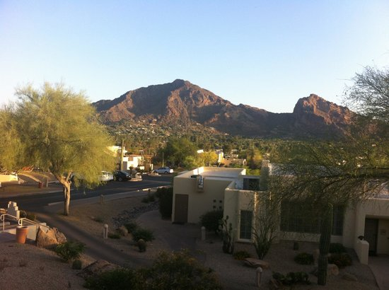 JW Marriott Camelback Inn Scottsdale Resort & Spa: Room with a view!