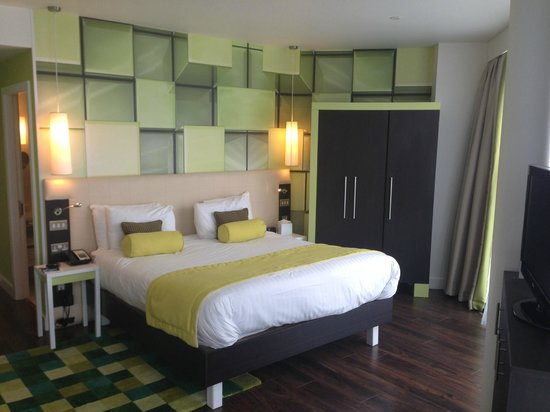Hotel Indigo Birmingham: Bedrooom