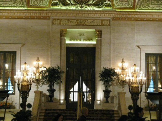 The Palmer House Hilton: The famous Empire Room