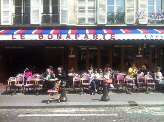 Cafe Le Bonaparte Tipico Parisiense Picture Of Le