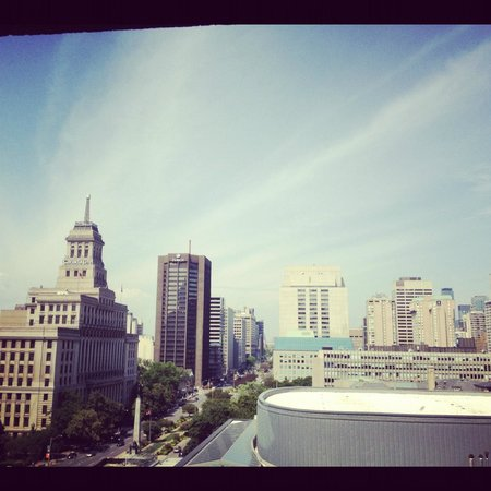 Hilton Toronto: view from the room!