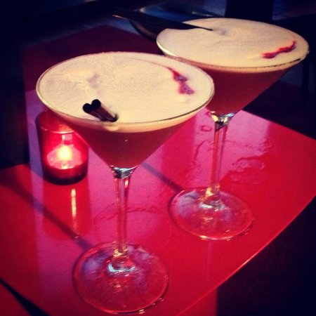 citizenM Glasgow: French Martinis - perfection!