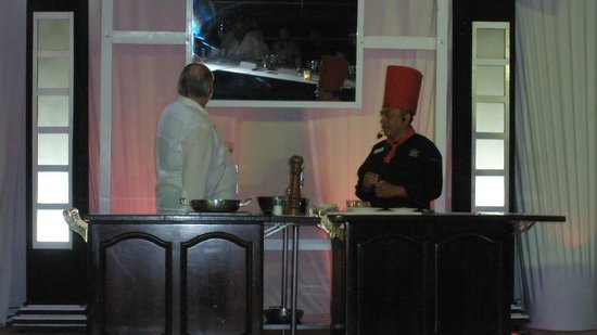 Sun Palace: GM Winkler and Exec Chef Poot at Chef's Dinner