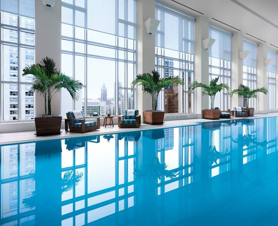 The Peninsula Chicago: The Peninsula Spa Pool