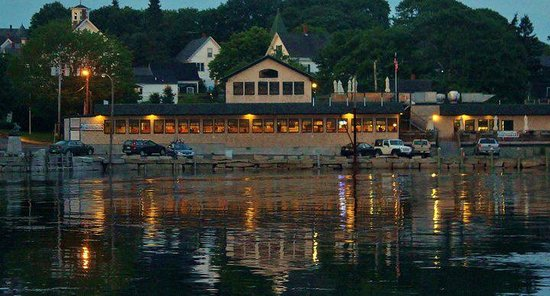 Stonington, ME: View From Local Fish Pier