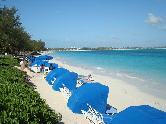 Beaches Turks & Caicos: Beautiful sand and clear, warm sea