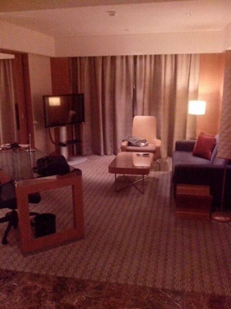 Grand Hyatt Singapore: Living area