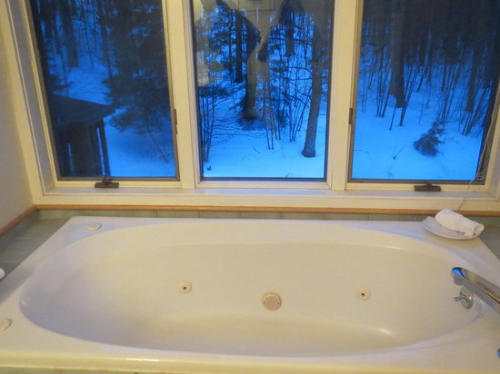 The Mountain Top Inn & Resort: Jacuzzi tub