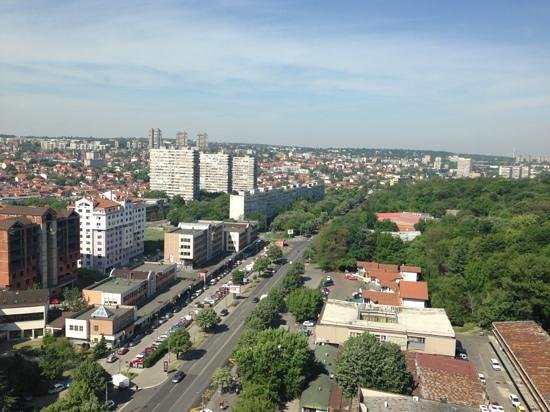 Srbija: view from breakfast floor
