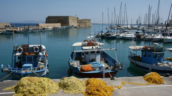 Marin Dream Hotel: Port d'Héraklion