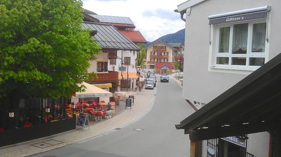 Ruhpolding, Germany: Town view from porch area