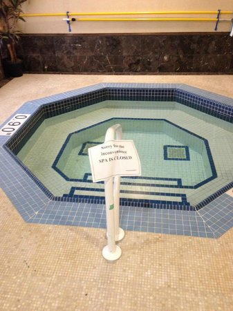Radisson Plaza Mississauga Toronto Airport: The Hot Tub Never Works