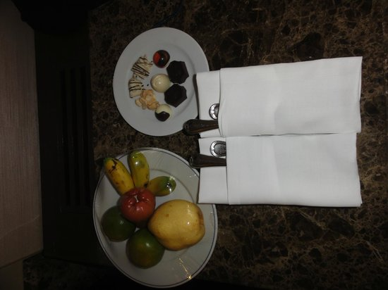 Dusit Thani Pattaya: Welcome Gift in Club Room