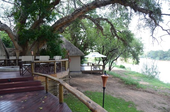 Balule Private Game Reserve, South Africa: Where you can chill between breakfast and lunch