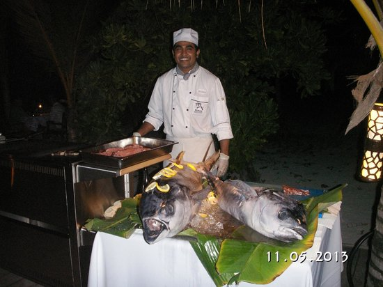 Kuredu Island Resort &amp; Spa: Yellow finn Tuna
