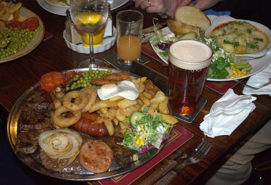 Nuneaton, UK: The Medium Sized Mixed Grill this is Protein Plus Plus