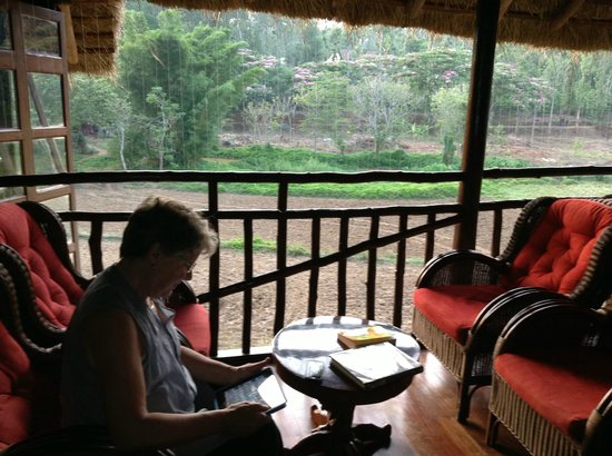 Orange County, Coorg: The Coffee/Reading Room