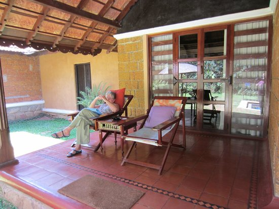Orange County, Coorg: our veranda