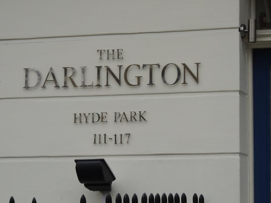 The Darlington Hyde Park: entrada