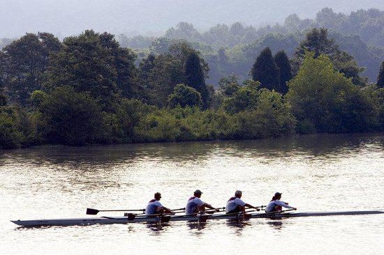 Oak Ridge, TN: Rowing On The River