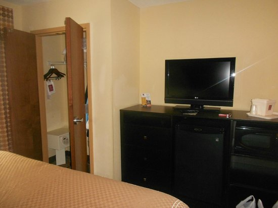 Comfort Suites Spartanburg: TV/Closet