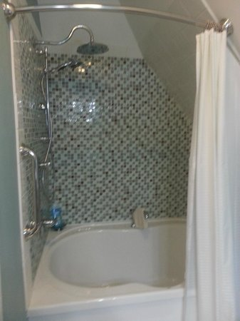 The Kalamazoo House Bed and Breakfast: Tub for two and then some!