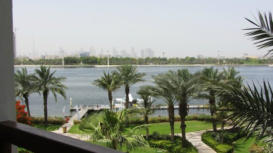 Park Hyatt Dubai: View from the room - Spa King facing the creek & Creek Park on the other side