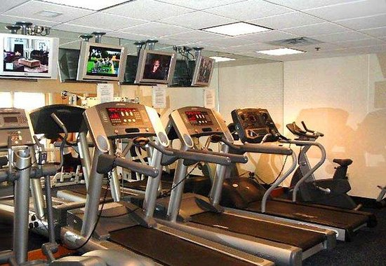 Detroit Metro Airport Marriott: Exercise Room