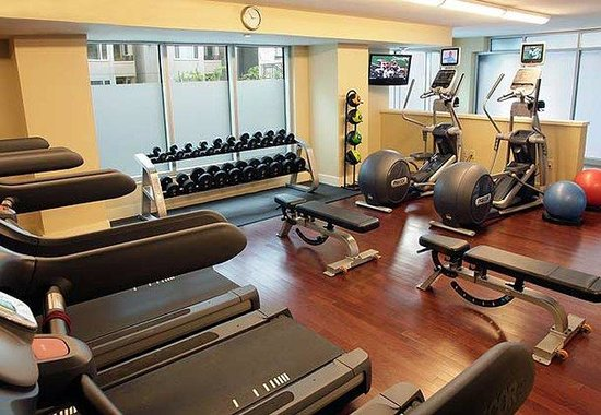Marriott Waterfront Seattle: Fitness Center