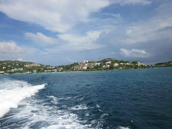 Sugar Bay Resort & Spa: on the way to St.John by ferry (20 minutes ride)