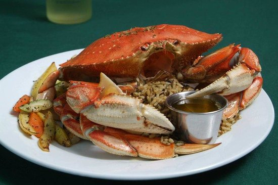 ‪‪BEST WESTERN Inn at Face Rock‬: Crab Dinner‬