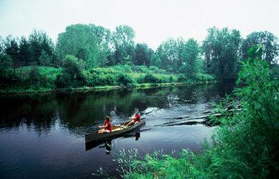 Eagle River, WI: Canoeing