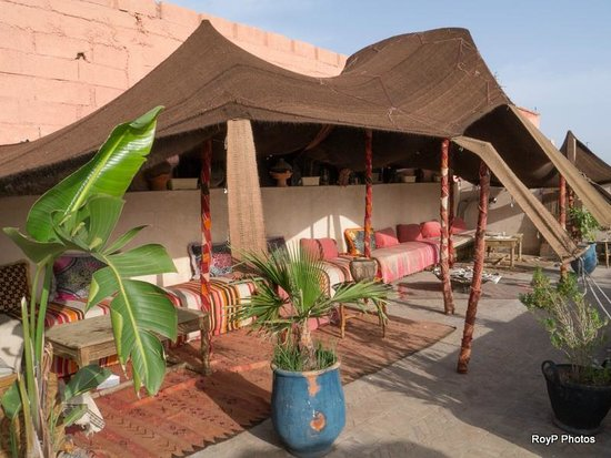 Riad Dubai: Roof terrace