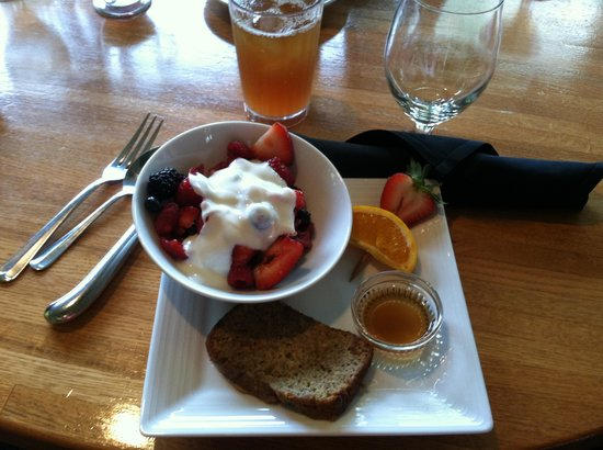 Hilton Head Health: Banana bread French toast with fruit and yogurt