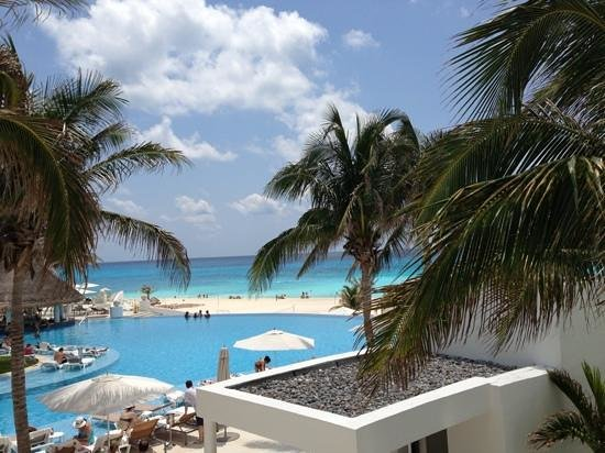 Live Aqua Cancun All Inclusive: view from room 200