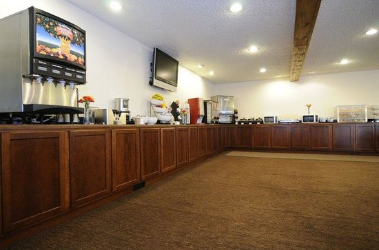 BEST WESTERN Golden Buff Lodge: Breakfast Area