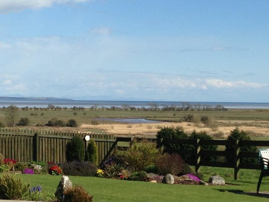 Wigtown, UK: View from the garden