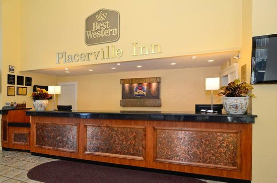Placerville, Californie : Hotel Front Desk