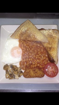 Axminster, UK: Best breakfast ever!!