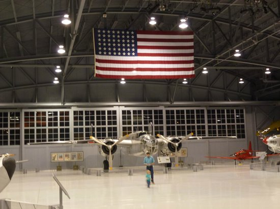 Oshkosh, WI: In the Eagle hanger