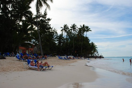 Barcelo Dominican Beach: La plage